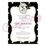 Bumble Bee Party Invite
