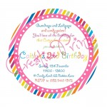 Candy Land Party Invite