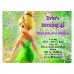 Tinkerbell Party Invite