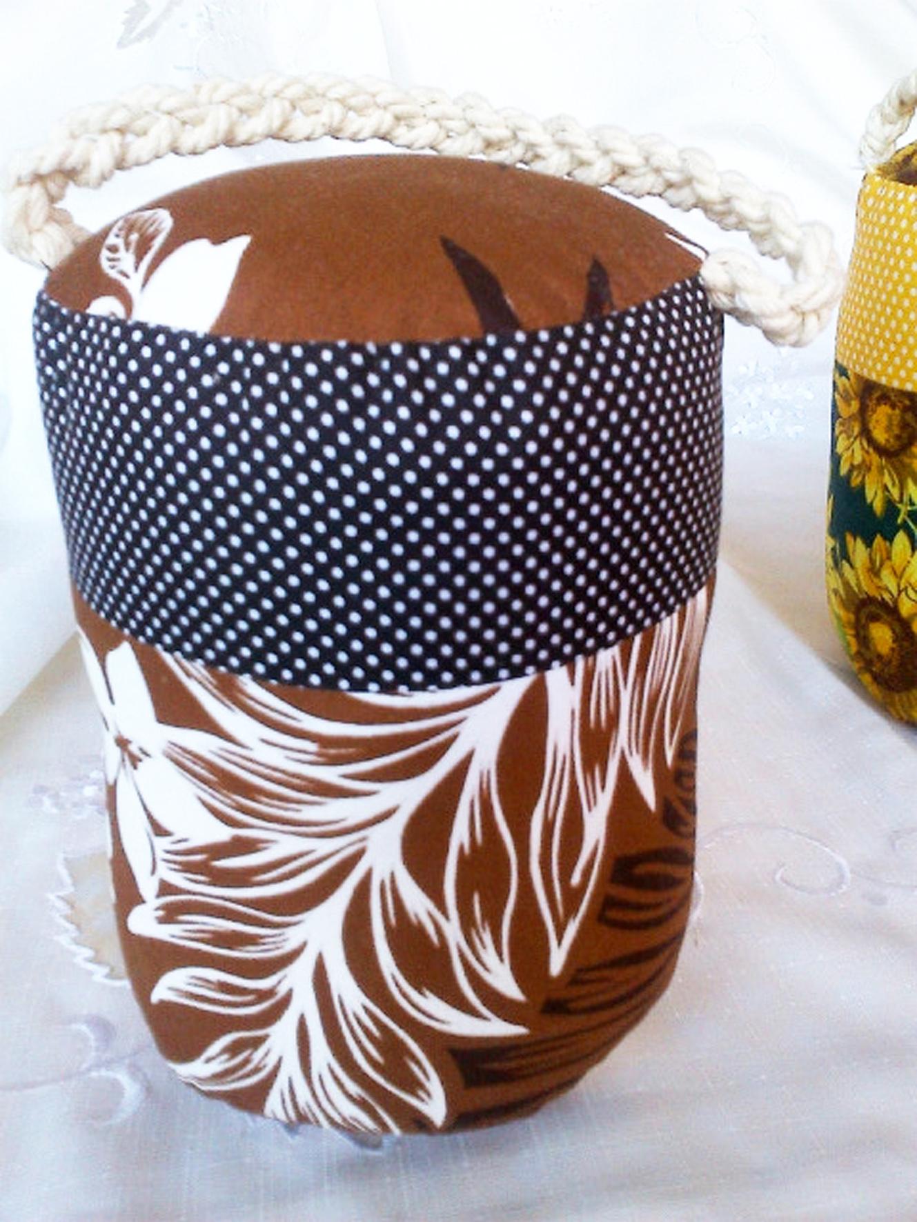 Brown Flower Bale