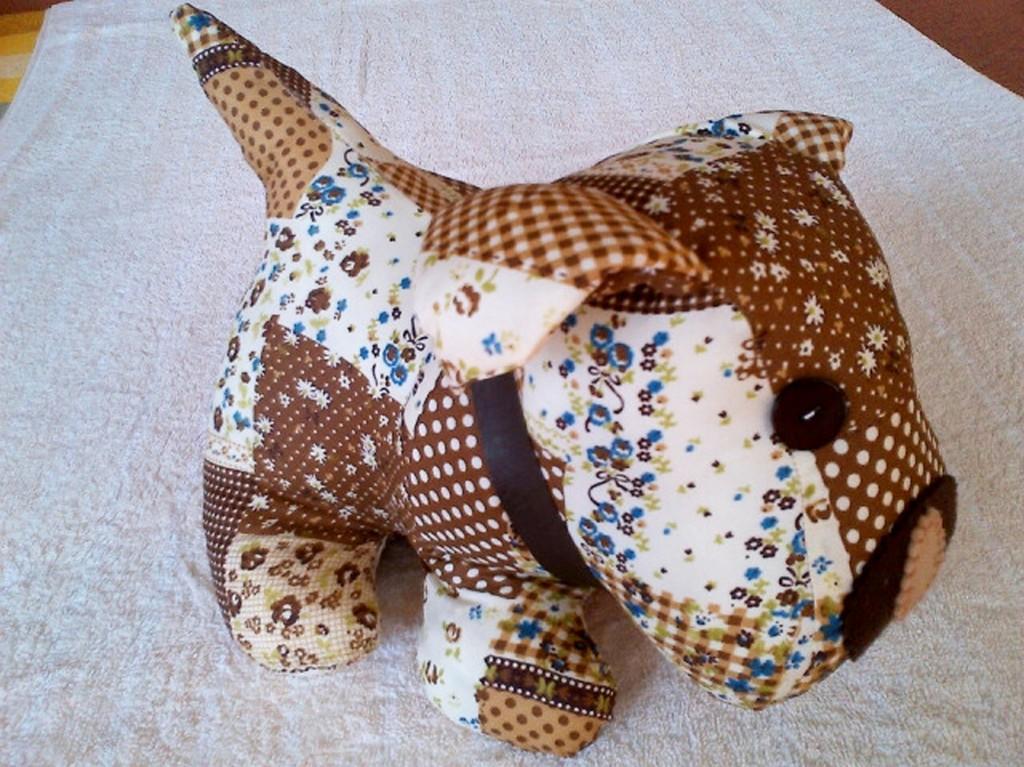 Brown Patchwork Dog