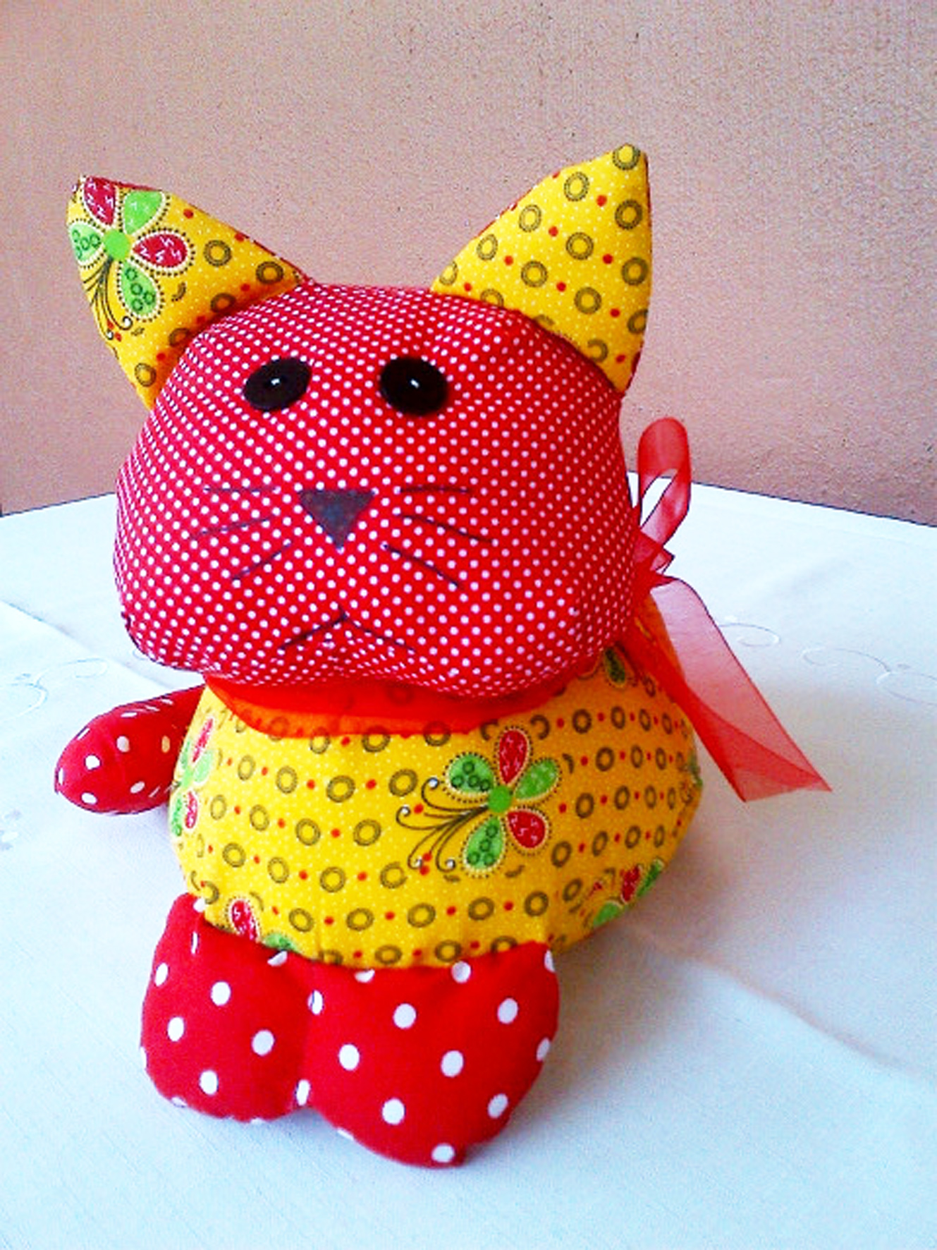 Red and Yellow Cat