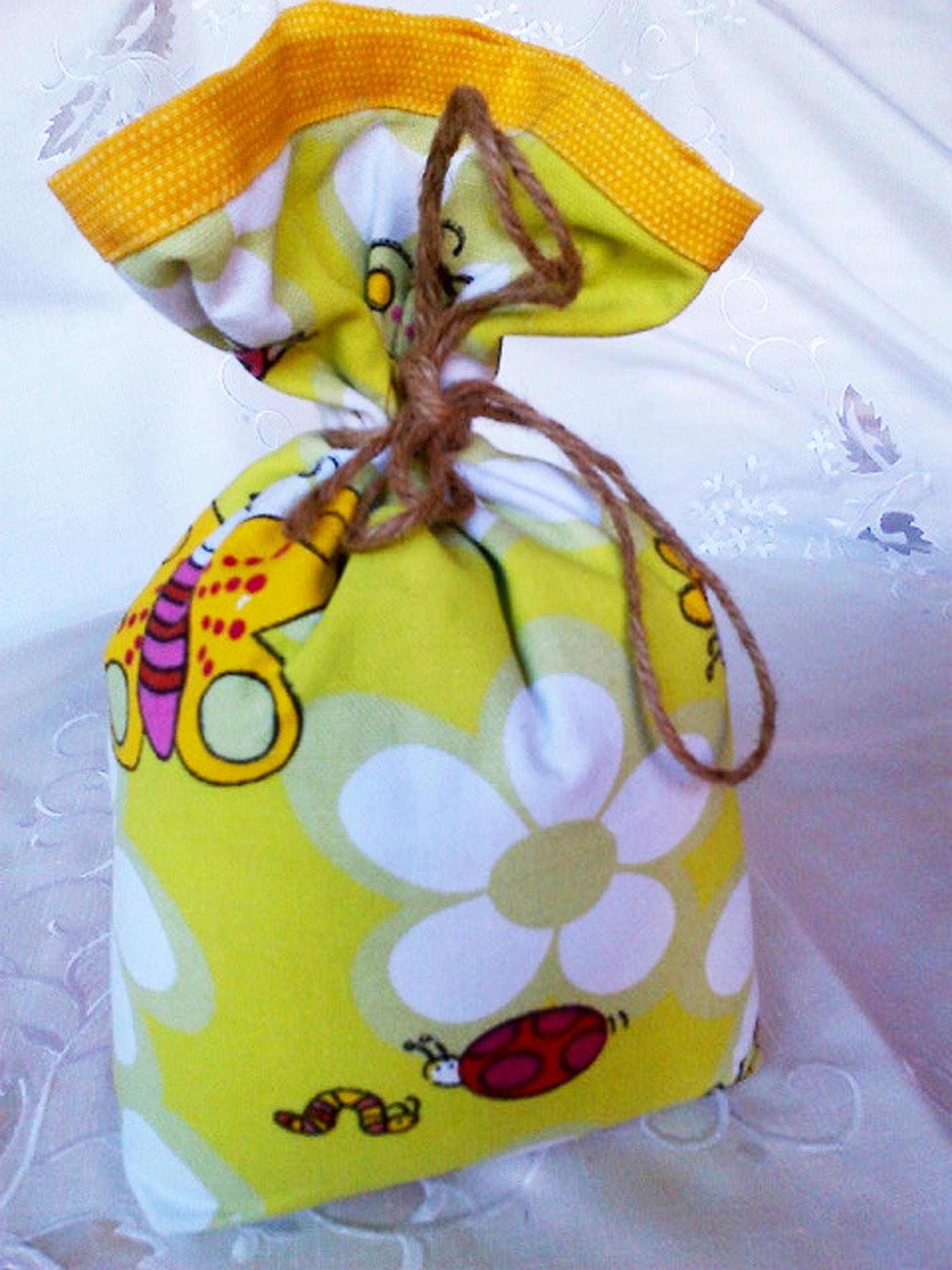 Yellow Bugs Bag
