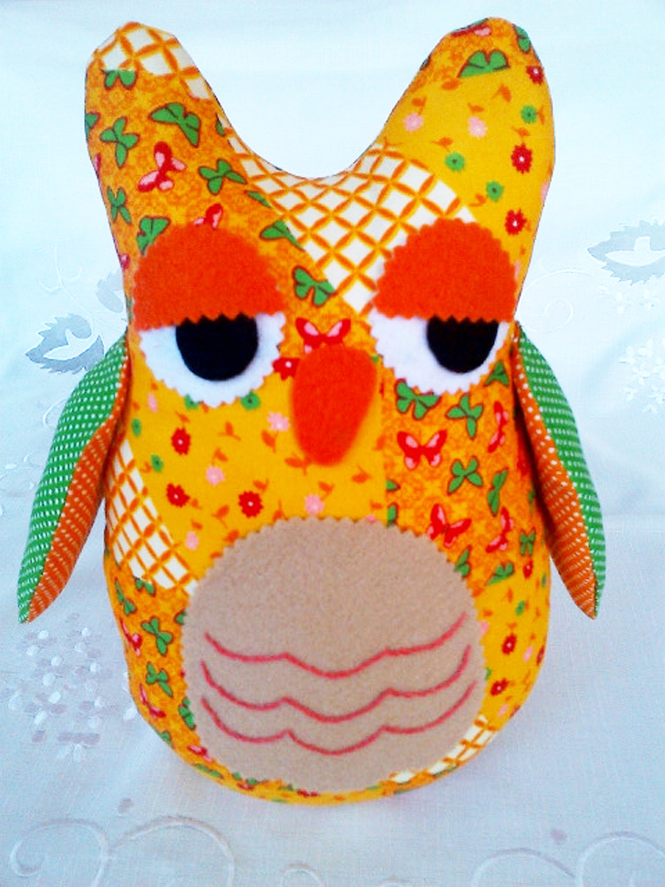 Yellow and Green Owl