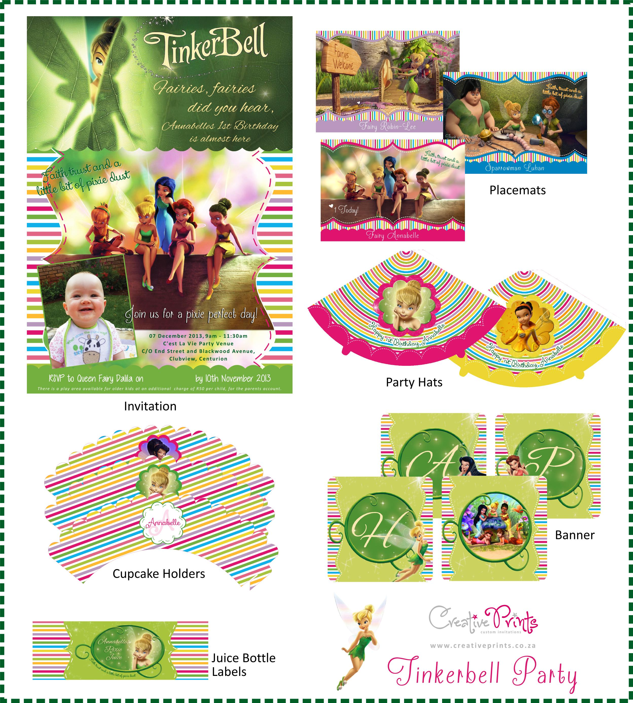 Annabelles Tinkerbell Party